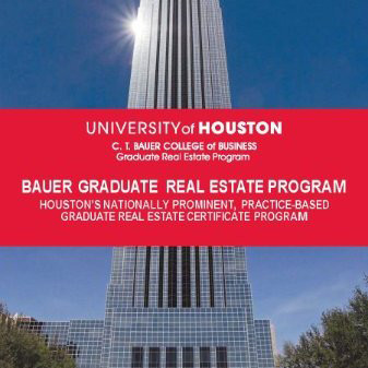 Graduate Real Estate Program, GREP, at University of Houston