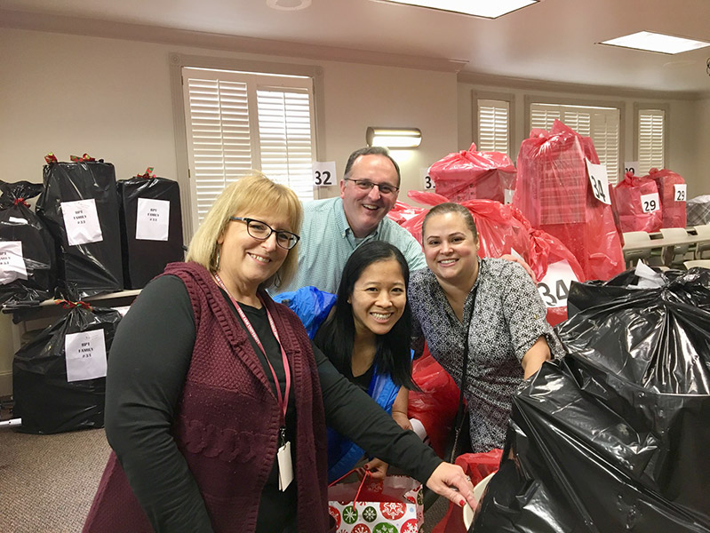 GHBA Associate Council Adopt-a-Family Project 2018