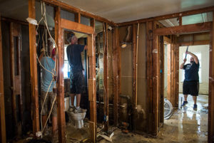 Hurricane Harvey restoration