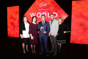 HomeAid and BuildAid Team Honored as Harvey Heroes by AFP Association of Fundraising Professionals