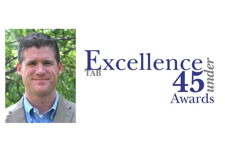 Brandon Lynch excellence under 45 award 2018
