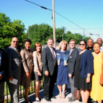 A Caring Safe Place dedication with Sandcastle Homes and HomeAid