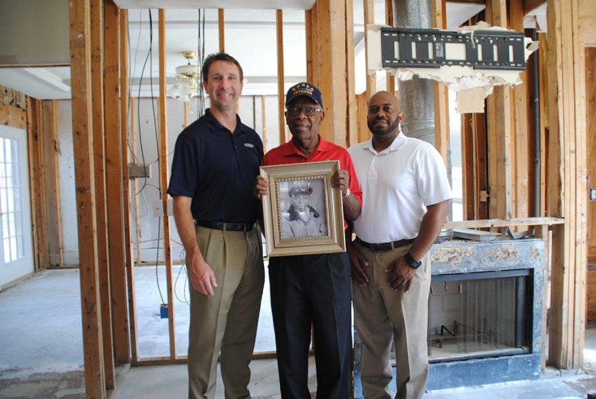 Charles Smith and BuildAid at Hurricane Harvey one-year anniversary