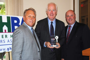 John Cornyn Defender of Housing Award
