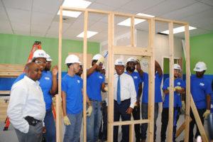 HBI Acres Homes Program ribbon cutting