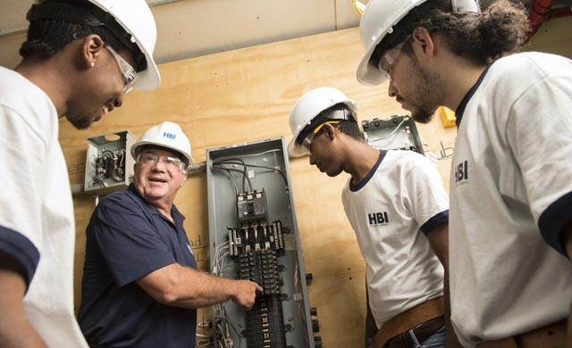training young homebuilders and trades