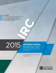 IRC 2015 code book