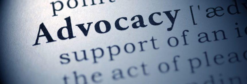 Advocacy definition dictionary