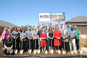 2018 Benefit Homes Groundbreaking, Taylor Morrison in Grand Vista