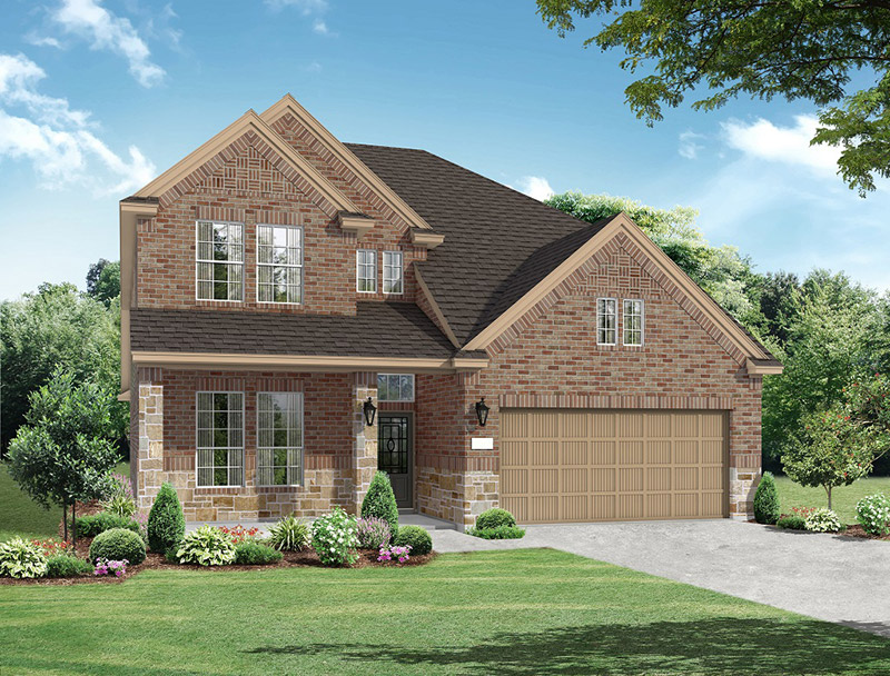 Chesmar Homes Mesquite Plan in Northgrove