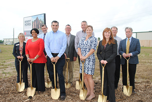 Trendmaker Benefit Homes Groundbreaking 2016