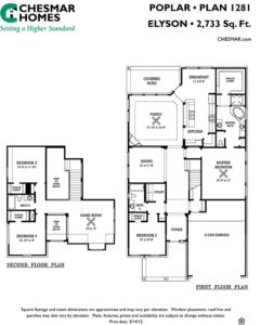 Chesmar Poplar floor plan