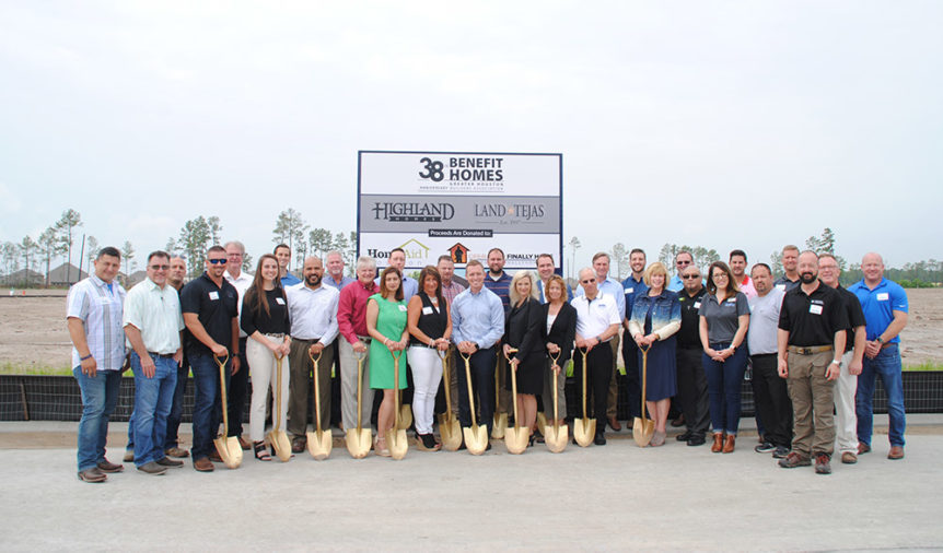 Highland Homes breaks ground on 2018 GHBA Benefit Home