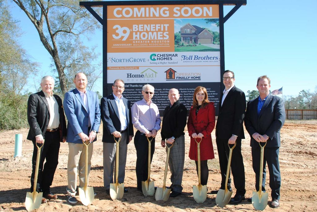 Chesmar Homes breaks ground for 2019 Benefit Homes project