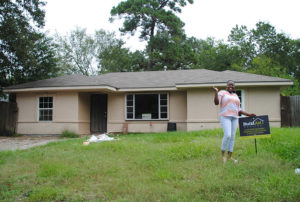 Crystal Wicks moves into her BuildAid-restored home