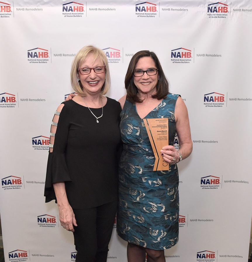 Donna Buenik wins 2019 CADRE Award