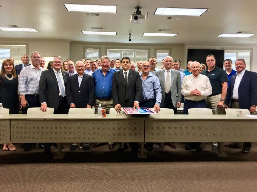 John Culberson at GHBA Developers Council meeting