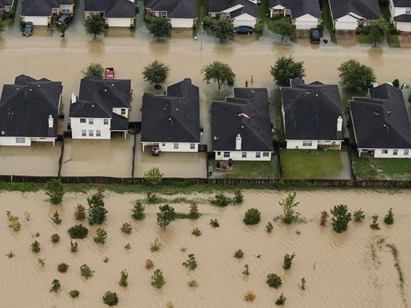 houston flooding home damage