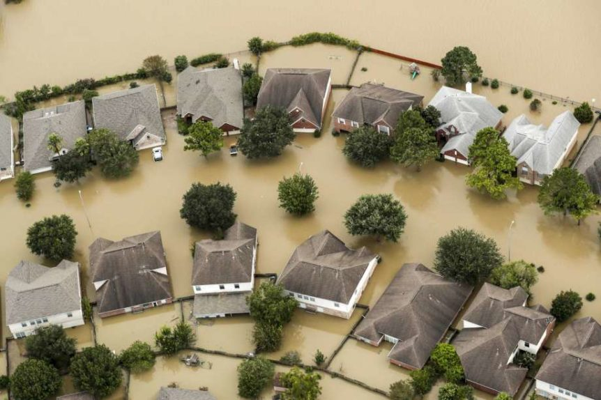 houston floodwaters
