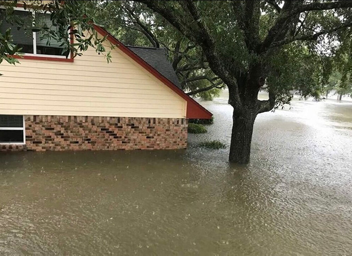 Flooded Yelovich home in Wedgewood