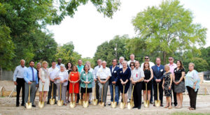 HomeAid Gracewood Next Step Project groundbreaking ceremony