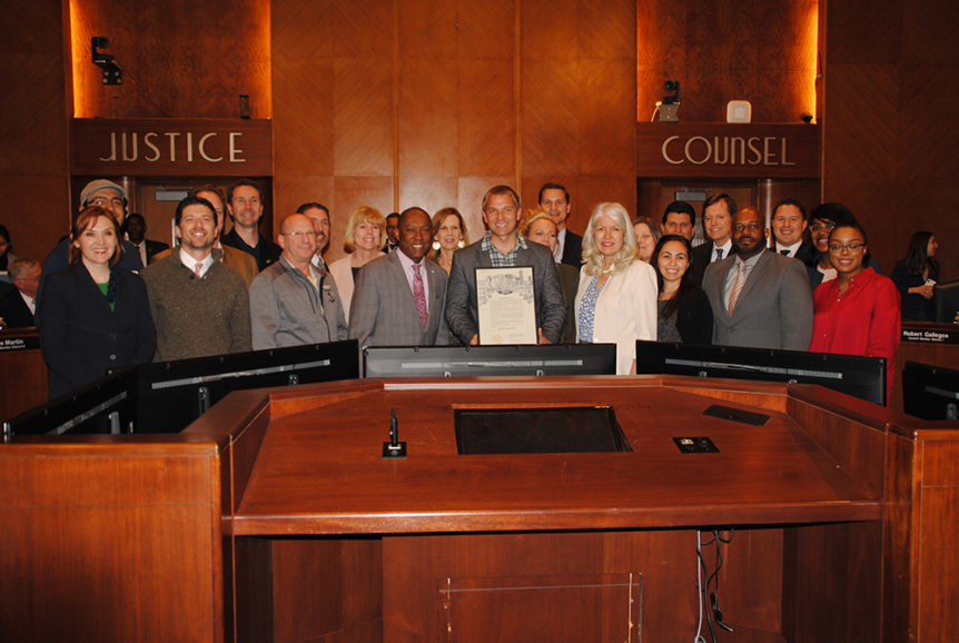 Mayor Turner proclaims HomeAid Houston Day March 2019