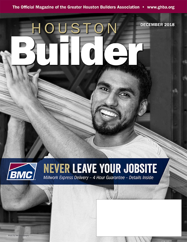 Houston Builder cover