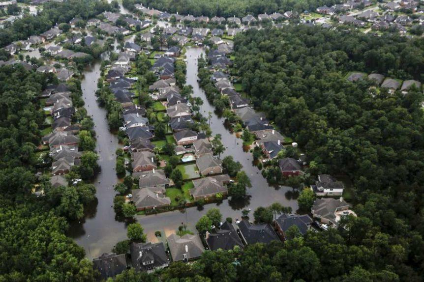 Houston floodplain