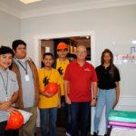 Jones Academy tours Sandcastle Homes