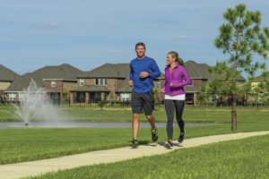 Lago Mar community joggers