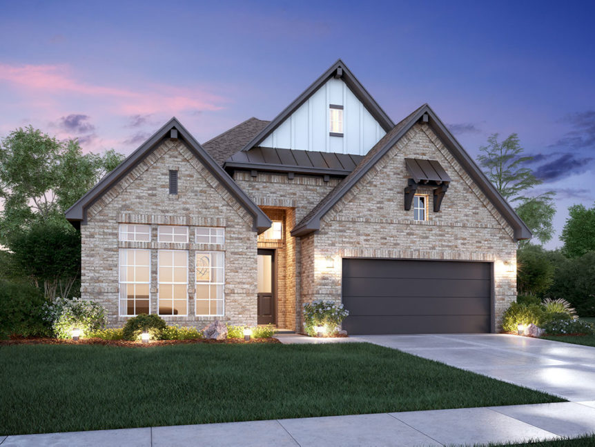 MI Homes Roseville plan for GHBA Benefit Homes project 2019