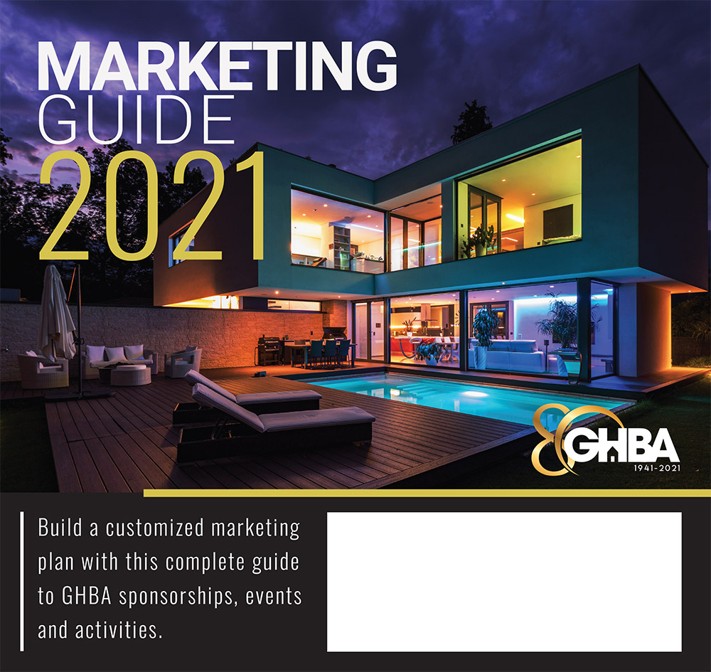 2021 GHBA Marketing Guide cover