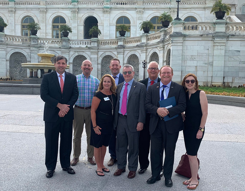 GHBA members at 2019 NAHB Legislative Conference in Washington, DC