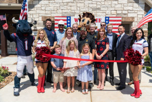Operation Finally Home Dedication to Kadleck family in The Woodlands