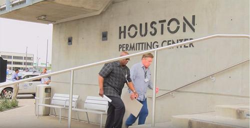 Houston Permitting Center plan review