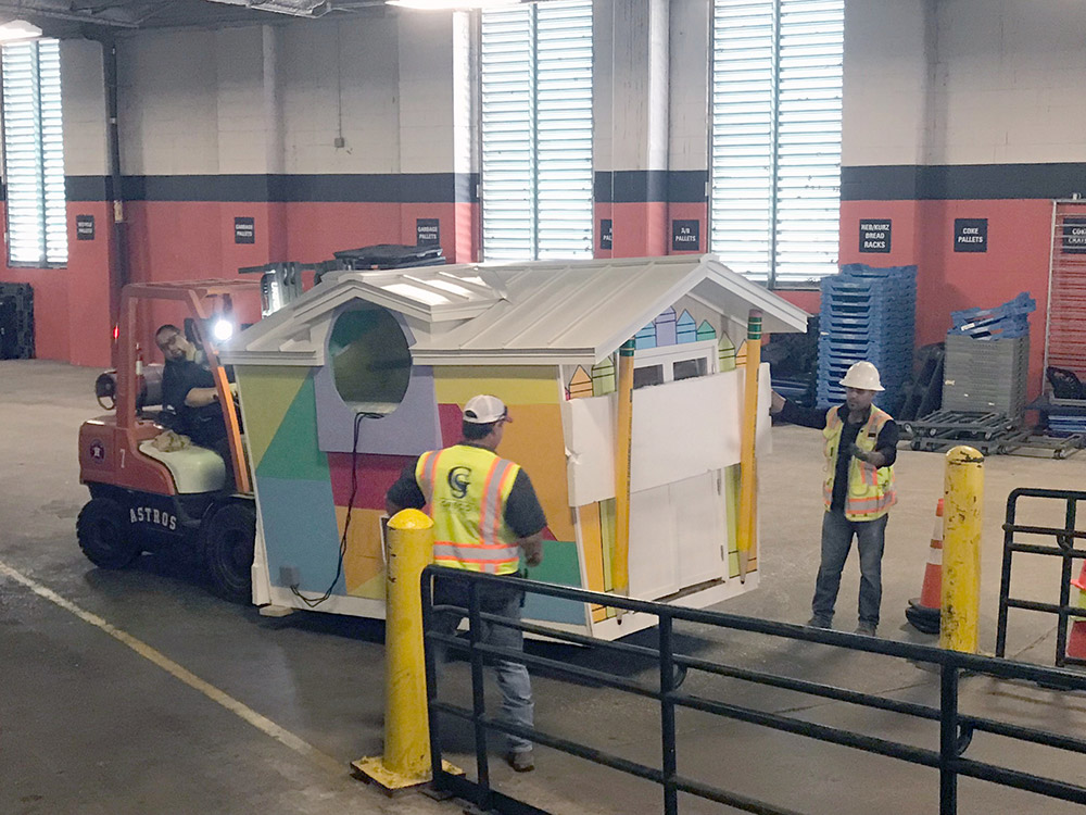 Project Playhouse 2019 moves into Minute Maid Park