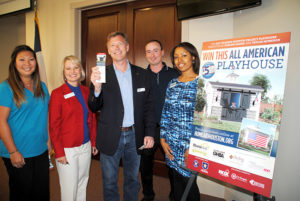 HomeAid Project playhouse unveiling 2017