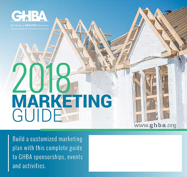 2018 GHBA Marketing Guide cover