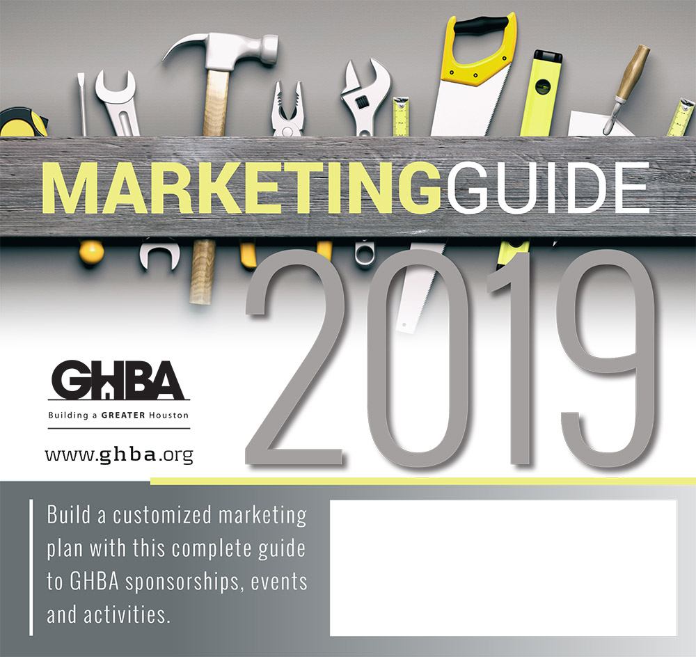 2019 GHBA Marketing Guide cover