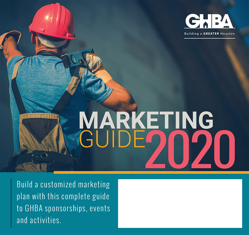 2020 GHBA Marketing Guide cover