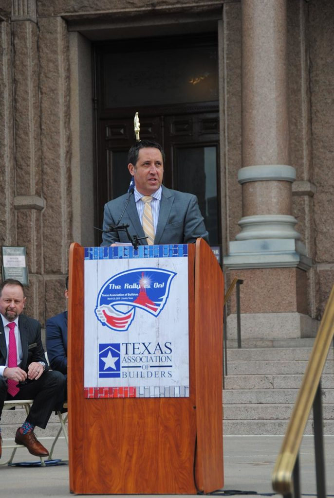 Rally Day 2019 State Comptroller Glen Hegar