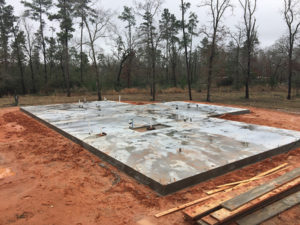 Residential slab foundation
