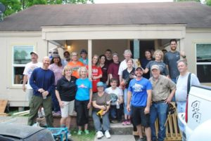 GHBA Remodelers Council 2017 charity project at Agape Development