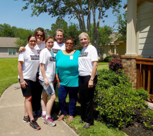 GHBA Remodelers Council charity project at Wellsprings Village