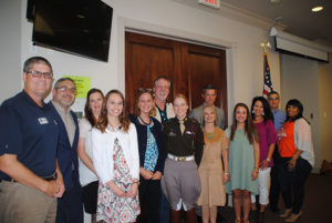 2017 GHBA scholarship winners and donors