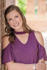 2018 GHBA scholarship recipient Brooke Evans