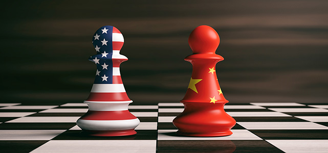 trade wars United States versus China