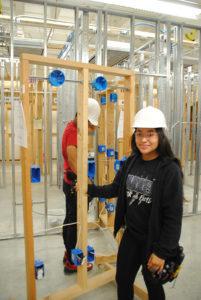 Warren Construction Careers Academy students
