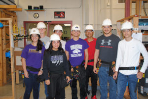 Warren Construction Careers Academy students